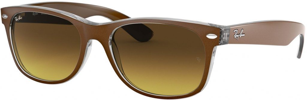 Ray-Ban New Wayfarer Color Mix RB2132-614585-55