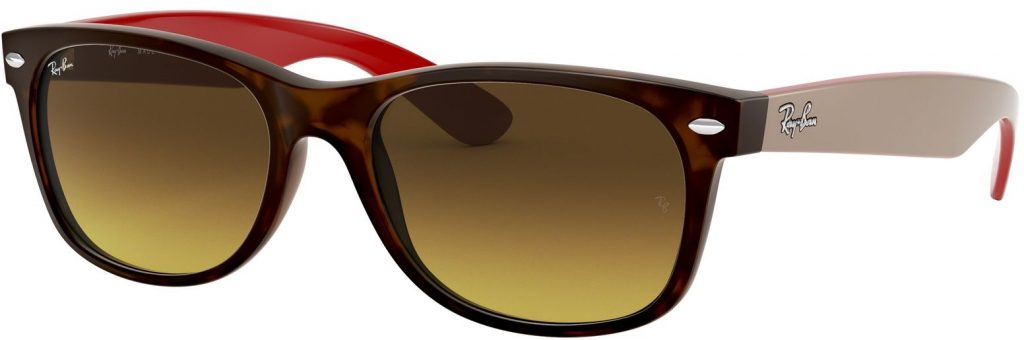 Ray-Ban New Wayfarer Color Mix RB2132-618185-52