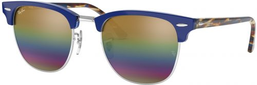 Ray-Ban Clubmaster Flash Lenses RB3016-1223C4-51