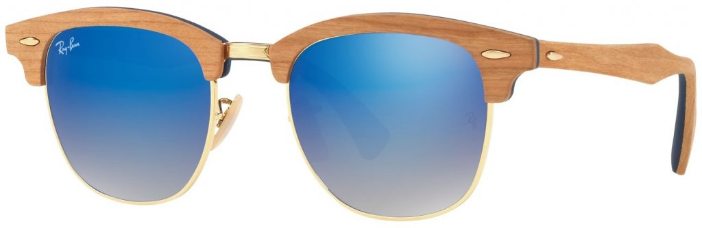 Ray-Ban Clubmaster Wood RB3016M-11807Q-51