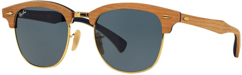 Ray-Ban Clubmaster Wood RB3016M-1180R5-51