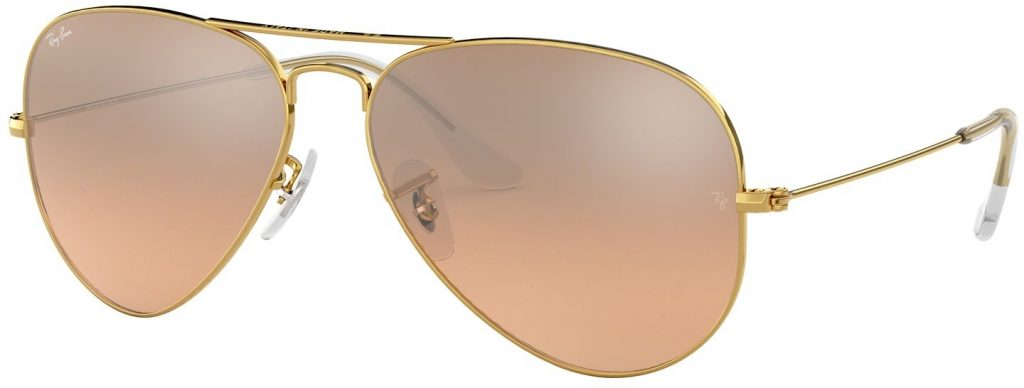 Ray-Ban Aviator Large Metal Flash Lenses RB3025-001/3E-55