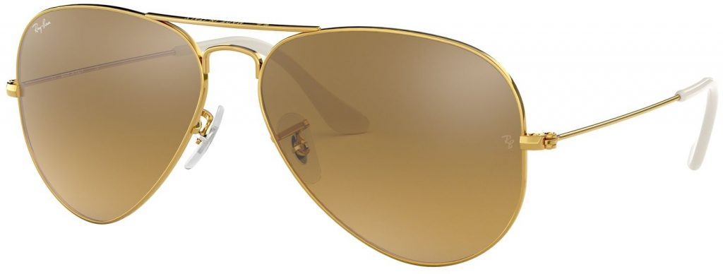 Ray-Ban Aviator Large Metal Flash Lenses RB3025-001/3K-55