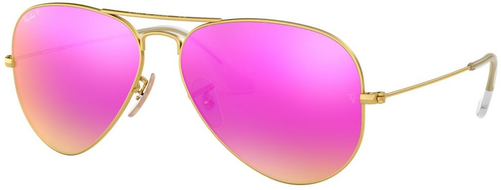 Ray-Ban Aviator Large Metal Flash Lenses RB3025-112/1Q-58