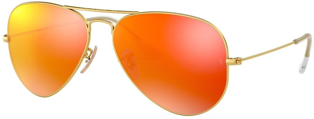 Ray-Ban Aviator Large Metal Flash Lenses RB3025-112/69-55