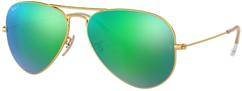 Ray-Ban Aviator Large Metal Flash Lenses RB3025-112/P9-58