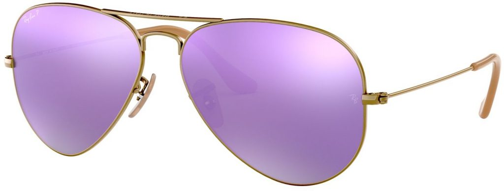 Ray-Ban Aviator Large Metal Flash Lenses RB3025-167/1R-58