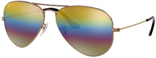 Ray-Ban Aviator Large Metal Mineral Flash Lenses RB3025-9020C4-58