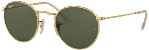 Ray-Ban Round Metal Flat Lenses RB3447N-001-53