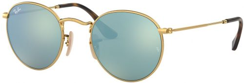 Ray-Ban Round Metal Flat Lenses RB3447N-001/30-47