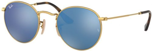 Ray-Ban Round Metal Flat Lenses RB3447N-001/9O-47