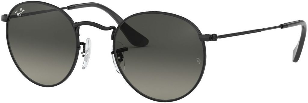 Ray-Ban Round Metal Flat Lenses RB3447N-002/71-53