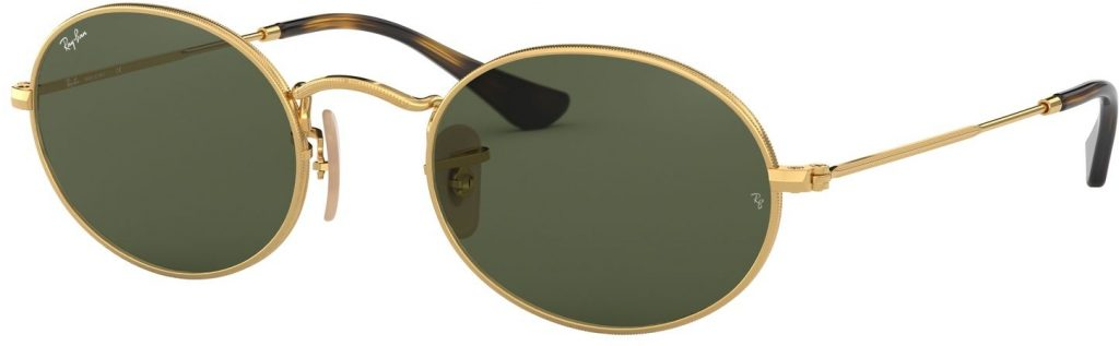 Ray-Ban Oval Flat Lenses RB3547N-001-51