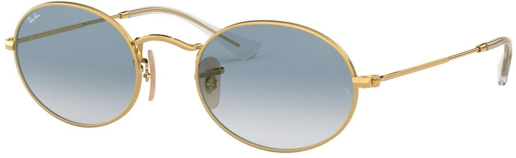 Ray-Ban Oval Flat Lenses RB3547N-001/3F-51