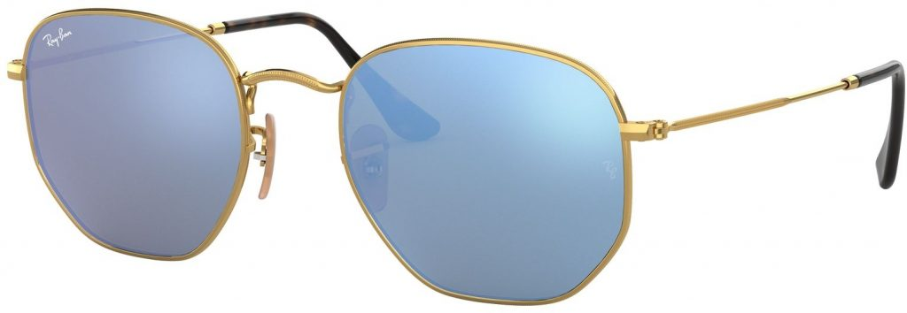 Ray-Ban Hexagonal Flat Lenses RB3548N-001/9O-54