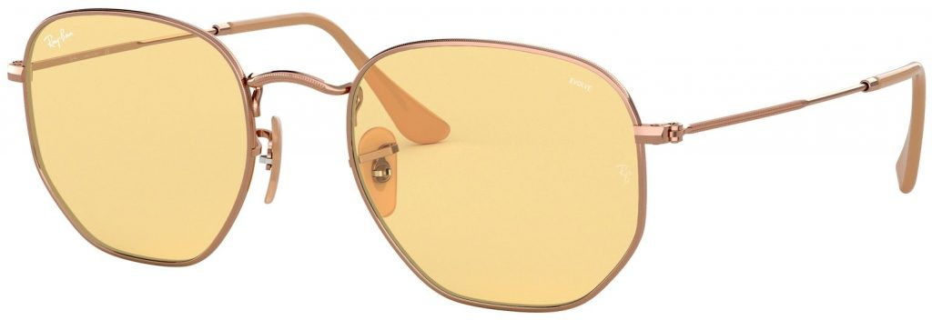 Ray-Ban Hexagonal Flat Lenses RB3548N-91310Z-51