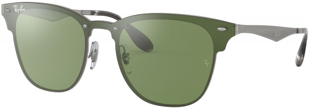 Ray-Ban Blaze Clubmaster Flat Lenses RB3576N-042/30-41
