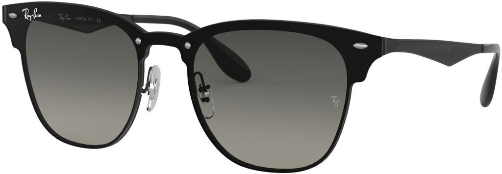 Ray-Ban Blaze Clubmaster Flat Lenses RB3576N-153/11-47