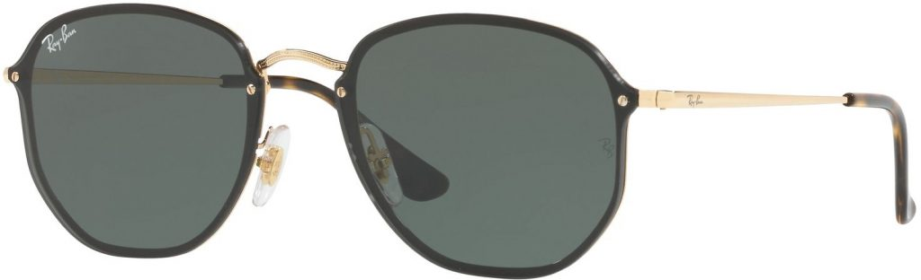Ray-Ban Blaze Hexagonal Flat Lenses RB3579N-001/71-58