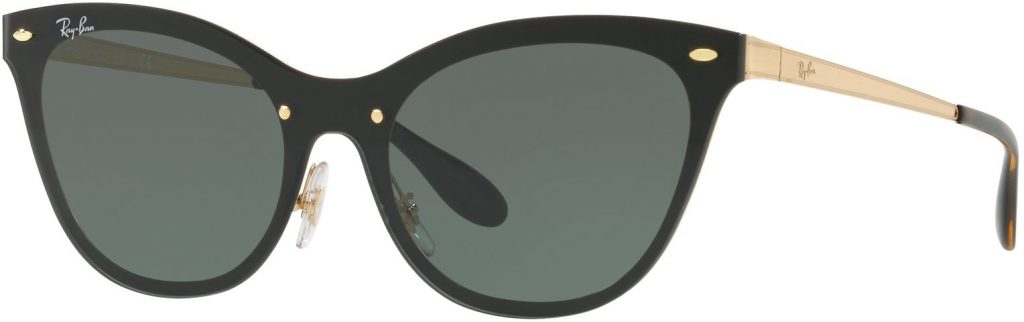 Ray-Ban Blaze Cat Eye Flat Lenses RB3580N-043/71-43