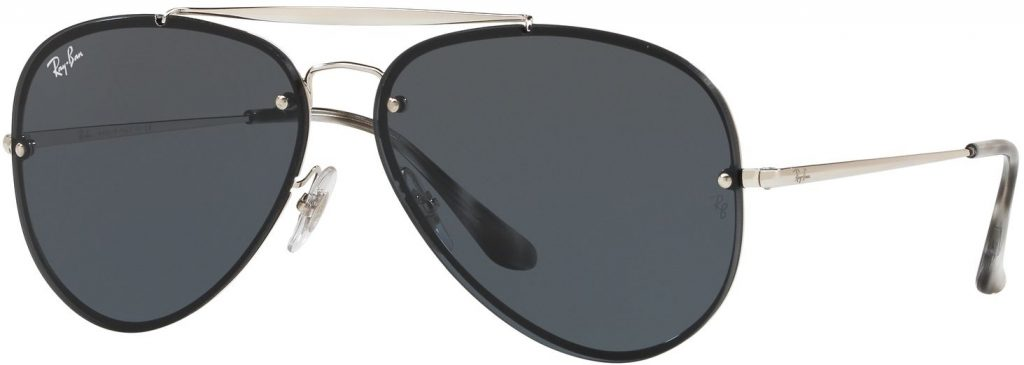 Ray-Ban Blaze Aviator Flat Lenses RB3584N-003/87-61