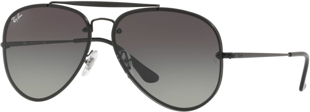 Ray-Ban Blaze Aviator Flat Lenses RB3584N-153/11-61