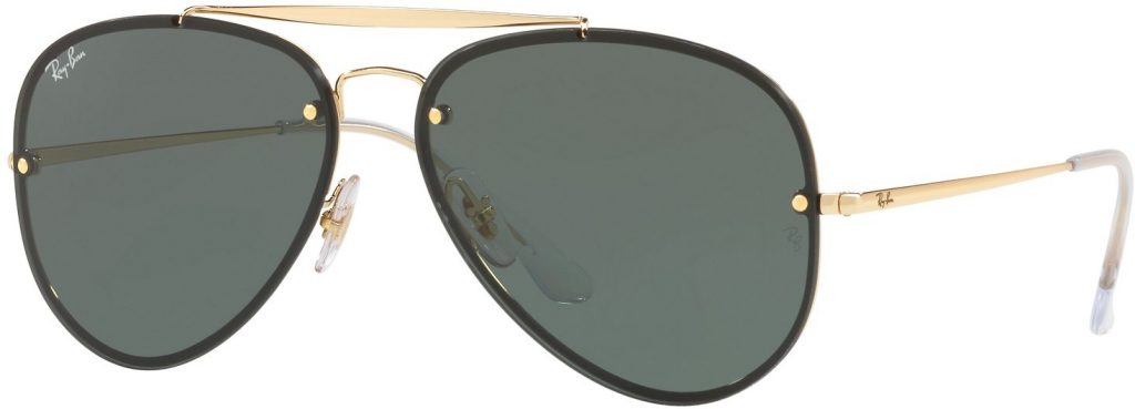 Ray-Ban Blaze Aviator Flat Lenses RB3584N-905071-61
