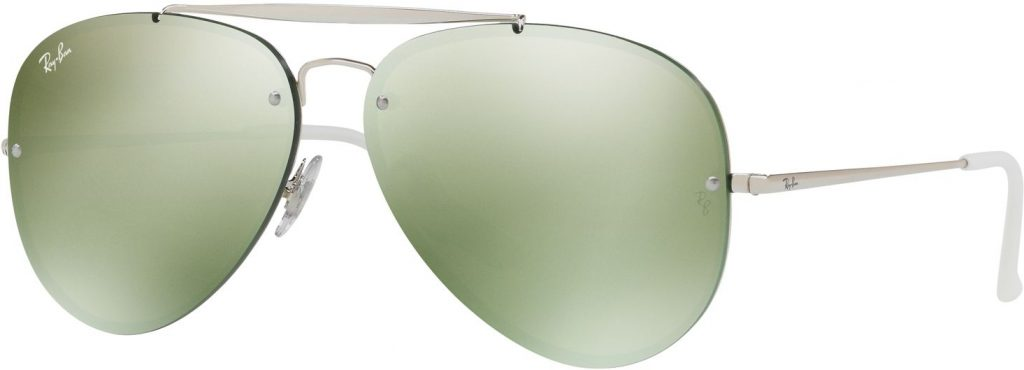 Ray-Ban Blaze Aviator Flat Lenses RB3584N-905130-58