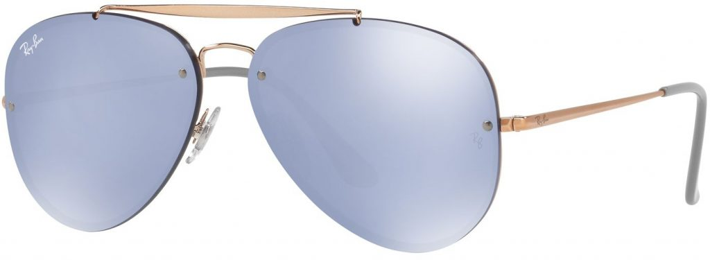 Ray-Ban Blaze Aviator Flat Lenses RB3584N-90531U-58