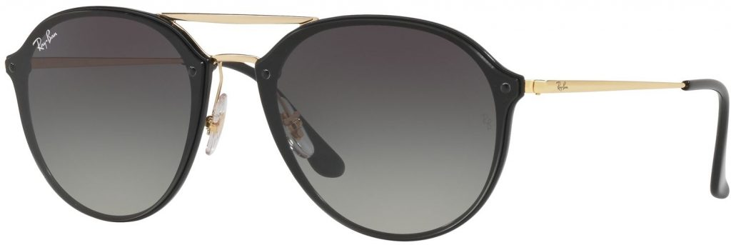 Ray-Ban Blaze Double Bridge Flat Lenses RB4292N-601/11-62