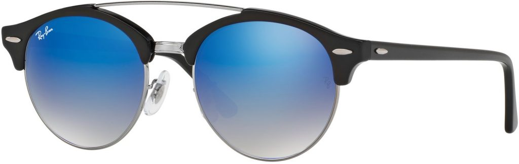 Ray-Ban Clubround Double Bridge RB4346-62507Q-51