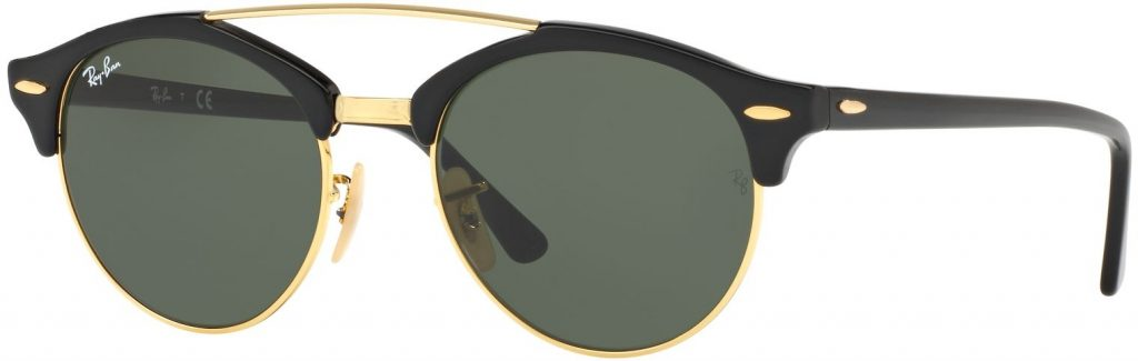 Ray-Ban Clubround Double Bridge RB4346-901-51
