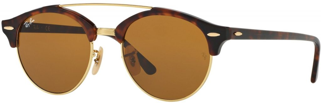 Ray-Ban Clubround Double Bridge RB4346-990/33-51