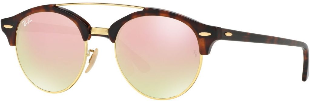 Ray-Ban Clubround Double Bridge RB4346-990/7O-51