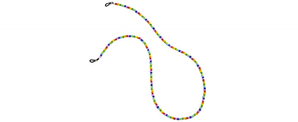 Boho Beach Sunny Necklace - Rainbow