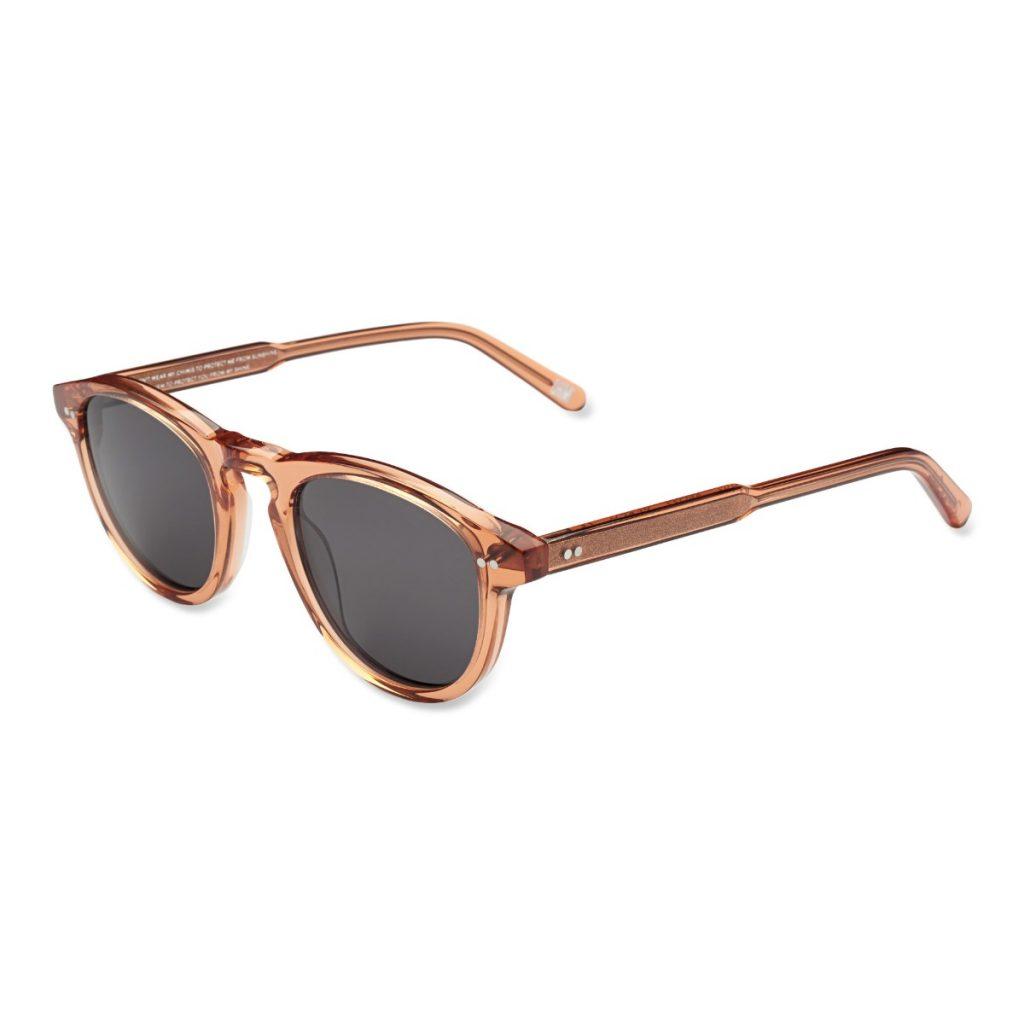 Chimi Eyewear #002 Peach Black