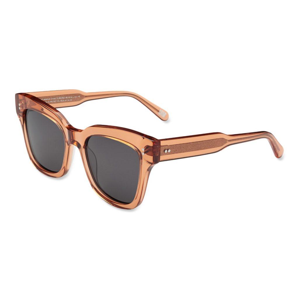 Chimi Eyewear #005 Peach Black