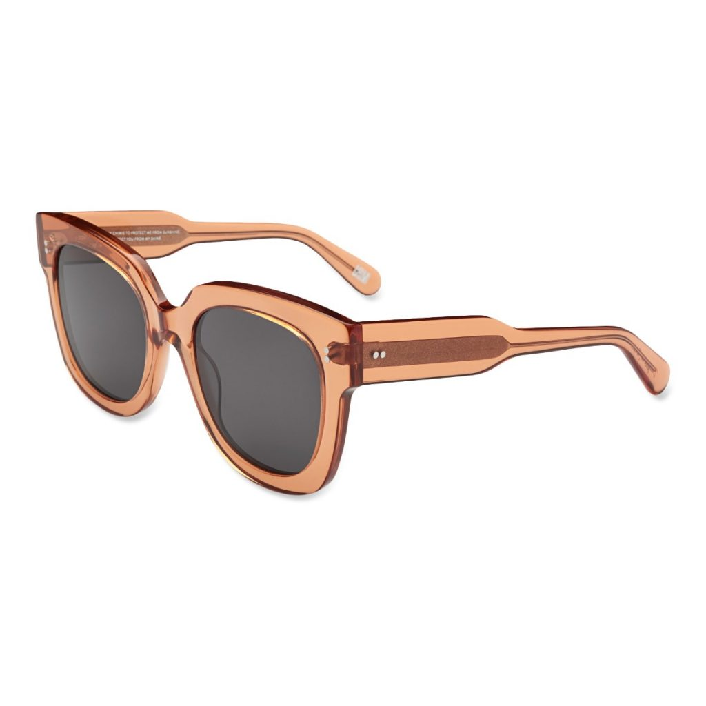 Chimi Eyewear #008 Peach Black