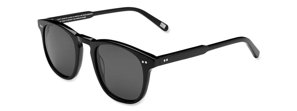 Chimi Eyewear #001 Berry Black