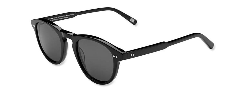 Chimi Eyewear #002 Berry Black