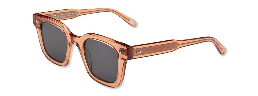 Chimi Eyewear #004 Peach Black