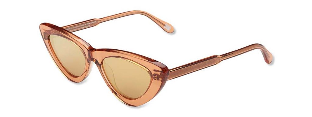 Chimi Eyewear #006 Peach Mirror