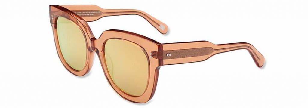 Chimi Eyewear #008 Peach Mirror